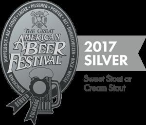 2017 GABF Silver Metal